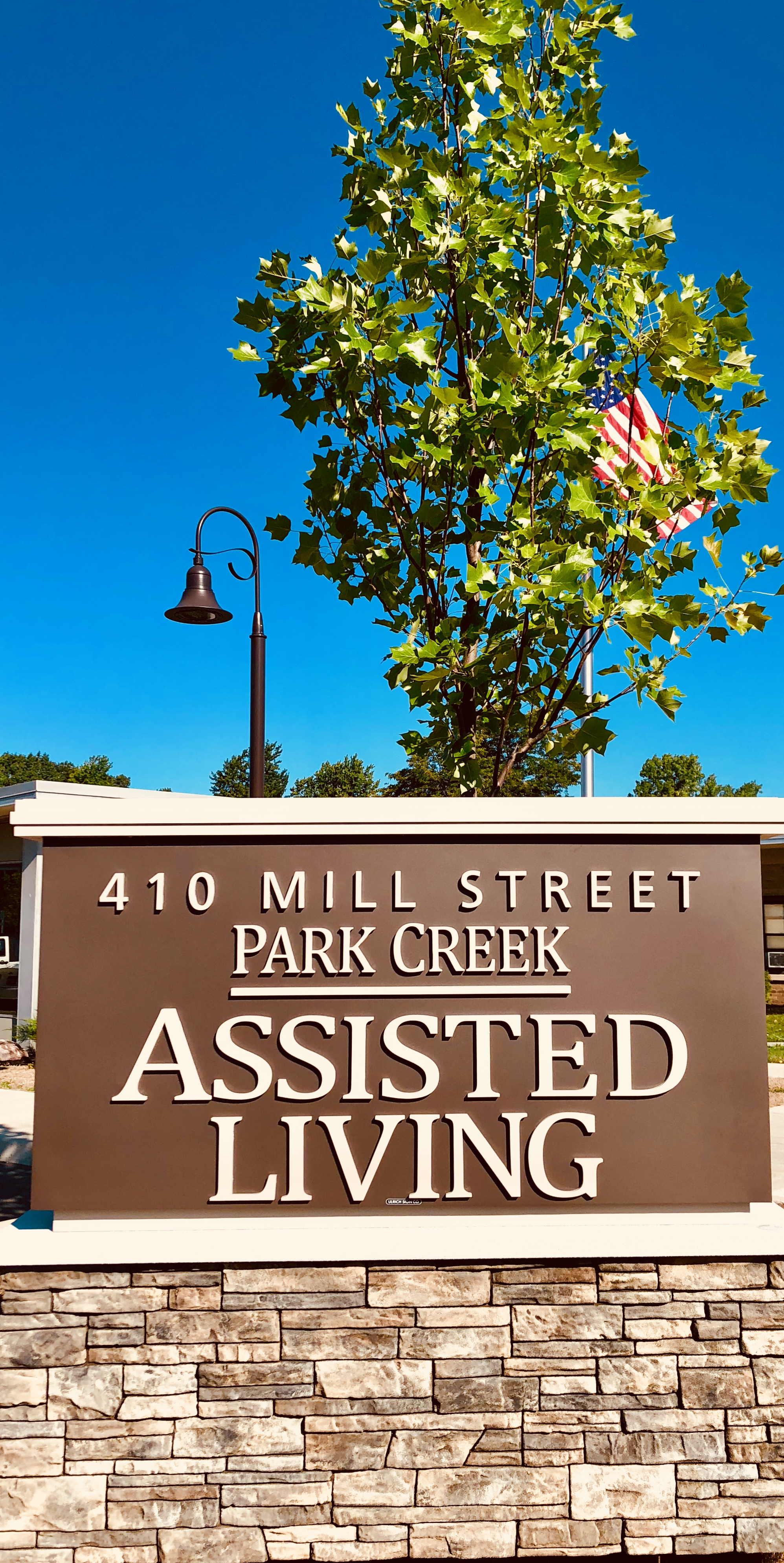 Park Creek Assisted Living Sign
